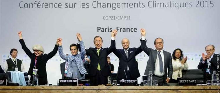 Conferencia sobre el cambio climático COP21 París 2015